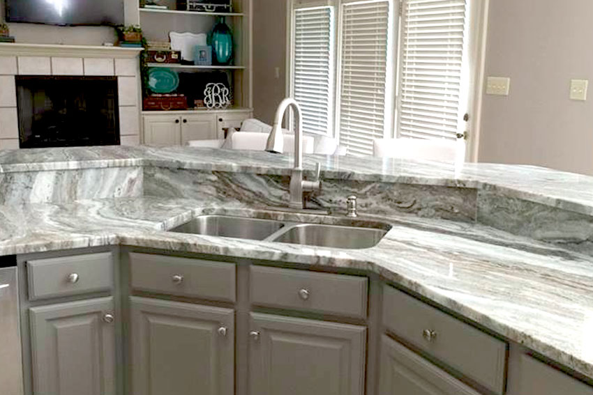 American Granite \u0026 Marble » Custom Countertops - kitchen counter marble